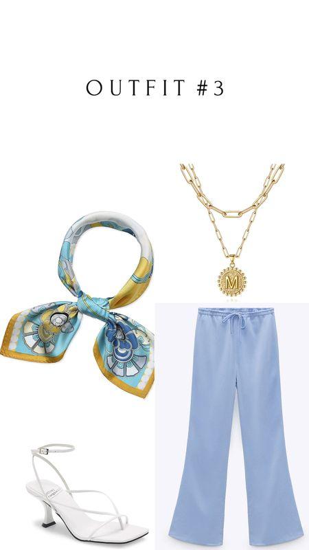 Amazon, Zara and Nordstrom finds 🛒   Zara Pants: Color Sky blue | 7936/020