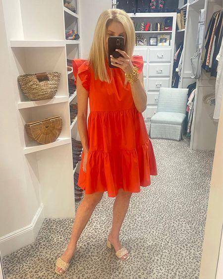 Orange dress - size 4 Shoes fit TTS   http://liketk.it/3hpeK #liketkit @liketoknow.it #LTKshoecrush #LTKstyletip