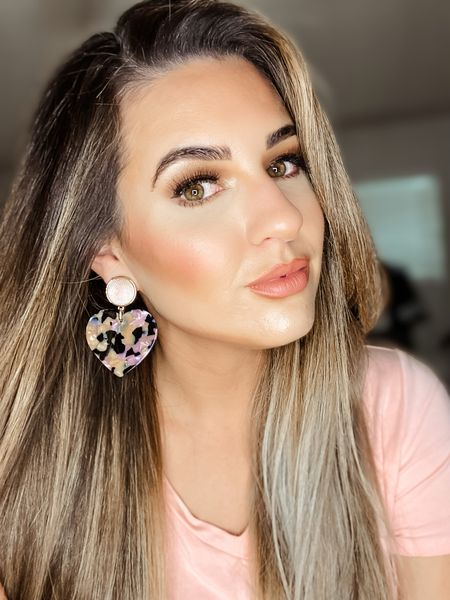 Baublebar Gigi heart resin earrings on sale $20 Heart earrings Statement earrings  #LTKstyletip #LTKsalealert #LTKunder50