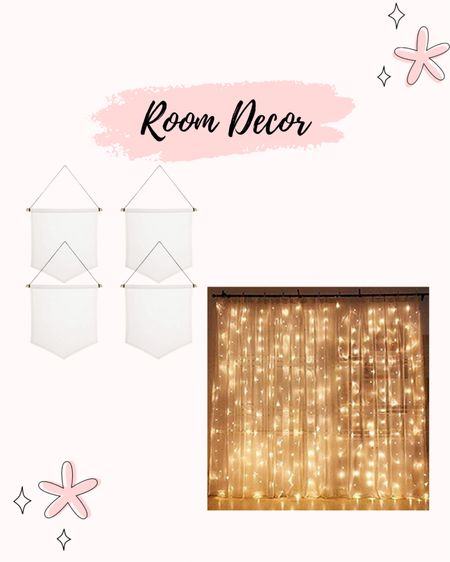 I have two strands of these lights to cover my whole back wall in my room! I use a 2lb command hook to hang the pin banners which is perfect to fill up & hold all my Disney pins! #LTKunder50 #LTKhome http://liketk.it/3eqAn #liketkit @liketoknow.it