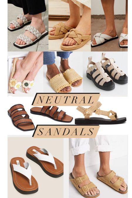 @liketoknow.it #liketkit http://liketk.it/3gVLZ cream, tan, white chunky sandals