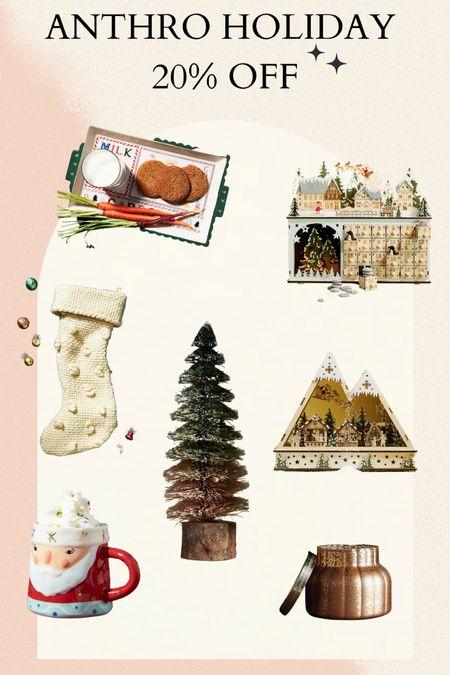 Anthropologie holiday pieces are 20% off  #LTKsalealert #LTKhome #LTKGiftGuide