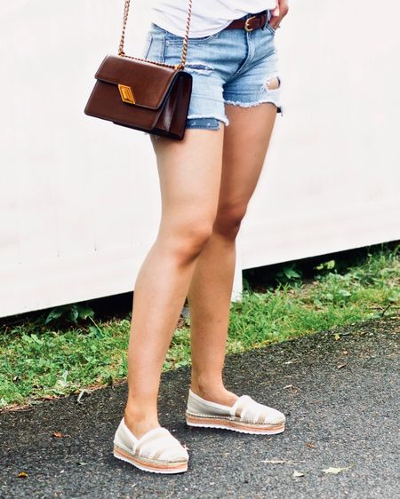 Denim cut offs and espadrilles for the win! Nothing reads summer simplicity quite like a pair of espadrilles. Plus, they're a great way to add a little texture and summery vibe to an outfit. If you aren't already, be sure to follow me on thefree @liketoknow.it app, so you can shop all of my Instagram and blog posts. I've linked some of my favorite #espadrille picks on my account. You can also shop my posts directly on my blog under the 'shop' tab or going to the links I share here. http://liketk.it/2SPUH #liketkit #LTKstyletip #LTKsalealert #LTKshoecrush 💋
