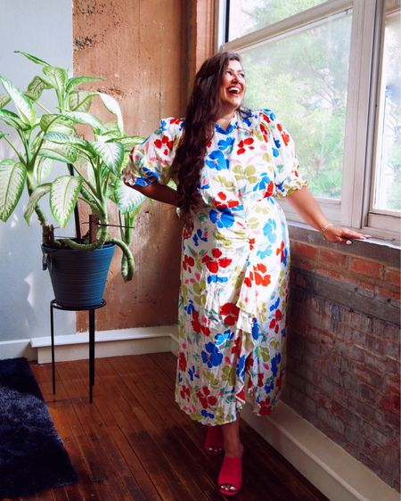 May Flowers 💐  • Still obsessing over these @targrt designer dresses 👗 who else is with me?? 💃💃💃 Shop my favorites with direct links by following me on the LIKEtoKNOW.it shopping app http://liketk.it/3gng1 #liketkit @liketoknow.it #LTKcurves #LTKDay #LTKunder50