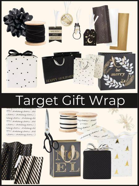 Holiday gift wrap essentials from Target!        Gift wrap , Christmas wrap , holiday gifts , target Christmas , wrapping essentials , #ltkunder50 #ltkstyletip #ltkseasonal  #LTKhome #LTKGiftGuide #LTKHoliday
