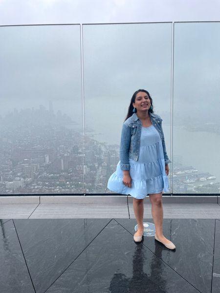 NYC views in a pretty dress.    #LTKstyletip #LTKunder100 #LTKtravel