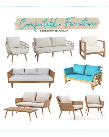 7 WAYS TO ELEVATE YOUR OUTDOOR SPACE: Comfortable Furniture #liketkit @liketoknow.it #LTKhome http://liketk.it/3e6Bi #LTKsalealert
