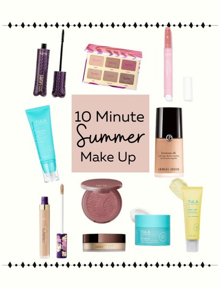 My go to make up look for summer is up on the blog.  Best mascara / beauty over 40 / skincare / makeup   #LTKbeauty #LTKstyletip #LTKunder50