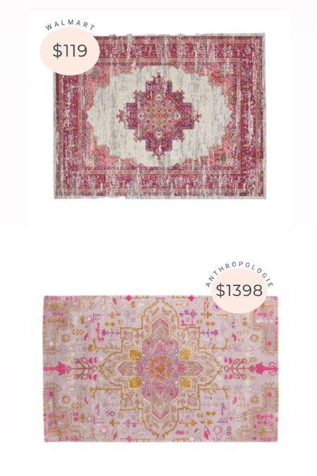Anthropologie rug dupe from Walmart 👏🏻  #LTKsalealert #LTKstyletip #LTKhome