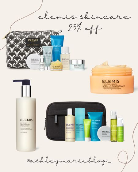 Elemis skincare bundles are on sale! Gift these to your loved ones this holiday season. Shop now to save!   #LTKSale #LTKhome #LTKbeauty