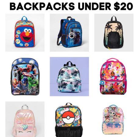 Kids back to school backpacks under $20  #LTKkids #LTKsalealert http://liketk.it/3jiqs   #liketkit @liketoknow.it