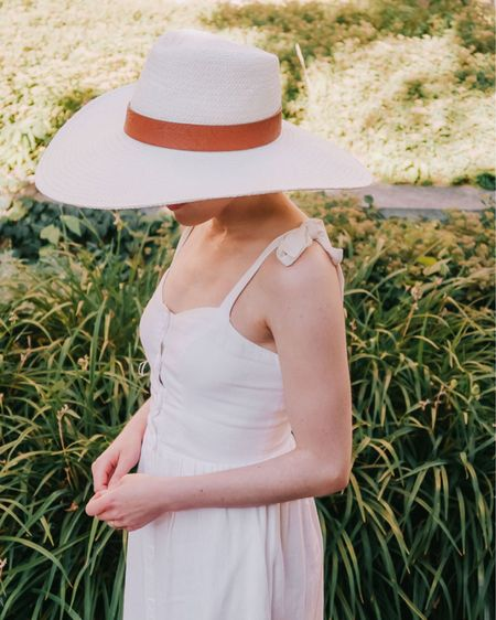 If you are all about floppy hats and white dresses for summer?, the. We need to be friends!   Outfit details: http://liketk.it/2SeZ8    #liketkit @liketoknow.it #LTKDay #LTKsalealert #LTKunder100    Follow me on the LIKEtoKNOW.it shopping app to get the product details for this look and others