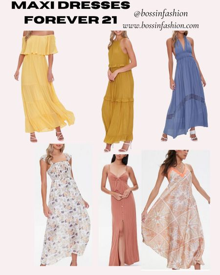 Forever 21 maxi dresses!!! LTK sale! #ltkday #maxidress #forever21 You can instantly shop all of my looks by following me on the LIKEtoKNOW.it shopping app #LTKstyletip http://liketk.it/3hupq @liketoknow.it #liketkit