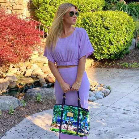 #matchingset #croptop #maxiskirt #lavender #lilac #summerset #ltksummer  #vacationoutfits #vacationtraveloutfits #maxidress #summeroutfits #weddingguestdress   http://liketk.it/3hi8K #liketkit @liketoknow.it   #LTKsalealert #LTKwedding #LTKDay