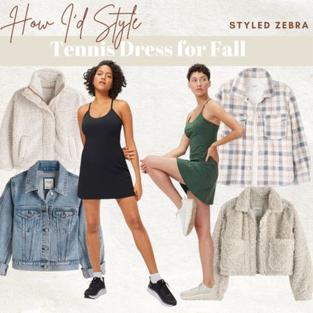 How I'd Style a Tennis Dress for Fall