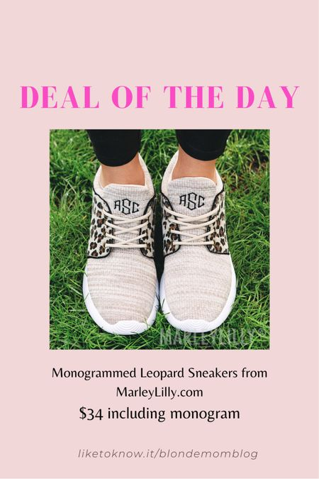 Love these monogrammed leopard sneakers! Classic preppy monogram style with a fun animal print twist.  #leopard #leopardshoes #leopardsneakers #preppy #preppystyle #monogram #monogrammed #leopardprint #personalized #marleylilly #etsy #animalprint #cheetah