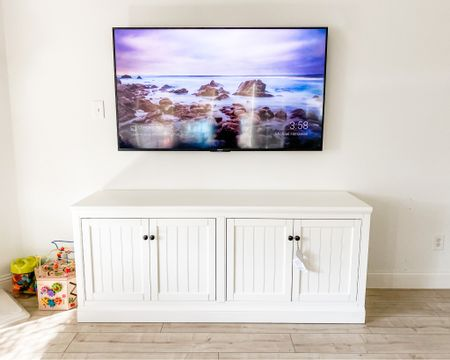 Our new entertainment center! She really pulls the room together! http://liketk.it/2XOxy #liketkit @liketoknow.it #LTKhome #LTKfamily @liketoknow.it.family @liketoknow.it.home