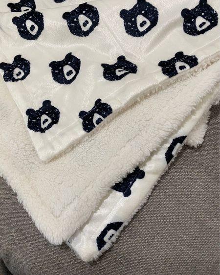 Cutest little baby bear blanket, only $8 and so soft! http://liketk.it/385i5 #liketkit @liketoknow.it #LTKbaby #LTKfamily #LTKkids