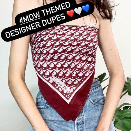 MDW themed designer dupes   #LTKSeasonal #LTKunder100 #LTKDay