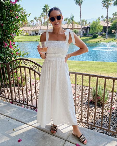 The best white Summer dress just stocked in black! #summerdress #maxidress   #LTKunder50 #LTKunder100 #LTKstyletip