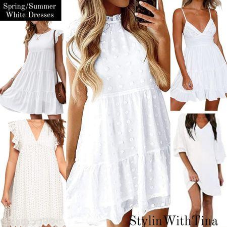 Amazon white dresses. Great for spring and summer festivities. #whitedresses #springdresses#summerdresses http://liketk.it/3h9yZ #LTKDay #LTKsalealert #LTKunder100 #LTKbrasil #LTKwedding #LTKtravel #LTKworkwear #LTKfit #LTKitbag #LTKstyletip #LTKunder50 #LTKshoecrush @liketoknow.it #liketkit