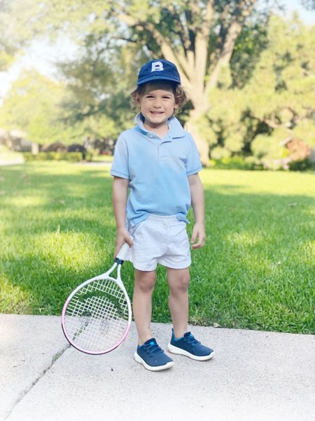 Boyce is so excited for camp day 2! Linking his exact look below. White shorts are sold out- linking different color pair.   #LTKfit #LTKkids #LTKunder50
