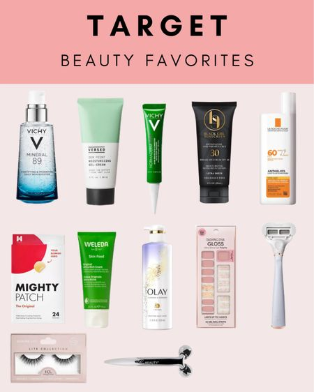 The Best Beauty Products at Target! Beauty doesn't need to be expensive. You'll find a ton of great beauty products at Target.   #LTKunder50 #LTKbeauty