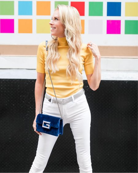 For a girl that used to be afraid to wear a jewel tone, I sure have come a long way. These tones are bright, bold, and full of life. This simple, but confident top by Givenchy just took my bang-around-the-house jeans to a night out with friends.  Scared to look too loud? Here are some other ways to mix jewel tones into your ensemble: A fabulous handbag Over-Sized stud earrings A pair of dressy, closed-toe heels 🖤   Photographer: @aneeatelier Hair+ Makeup: @fedeinsieme   Shop your screenshot of this pic with the LIKEtoKNOW.it app http://liketk.it/2EFJ5 #liketkit @liketoknow.it