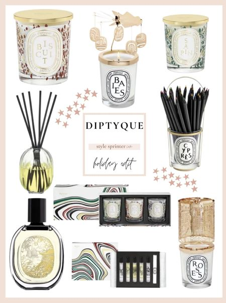 Diptyque candle and diffusers are perfect holiday gifts 🎁 This roundup features my favorite holiday gifts from the brand   #LTKSeasonal #LTKHoliday #LTKGiftGuide