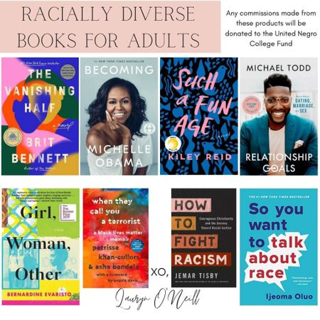 In support of black history month, here are just a couple racially diverse books for adults.    #LTKunder50 #LTKSeasonal #LTKfamily