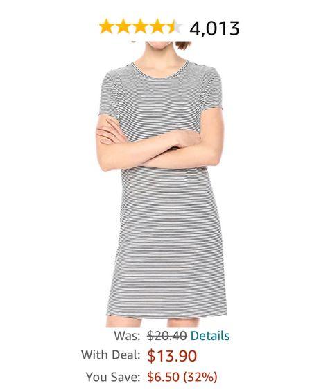 Prime day deal http://liketk.it/3i8MK #liketkit @liketoknow.it  Amazon prime Amazon deals Amazon T-shirt dress Amazon dresses