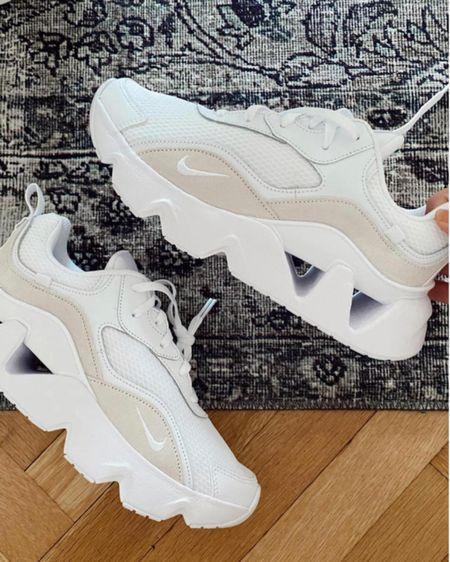 Neutral sneakers (fit true to size & SO comfy!)    http://liketk.it/3g02n #liketkit @liketoknow.it #LTKshoecrush #LTKunder100 #LTKfit