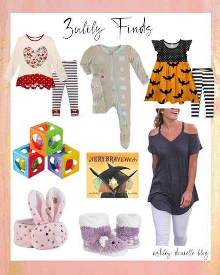 Zulily finds - little girls outfits, Kickee, slippers + more!   #LTKbaby #LTKfamily #LTKSale