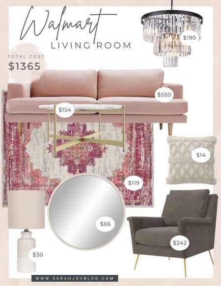 Walmart living room design    #LTKstyletip #LTKsalealert #LTKhome