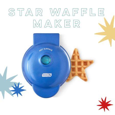 Dash Star mini waffle maker http://liketk.it/3f02V  #liketkit @liketoknow.it