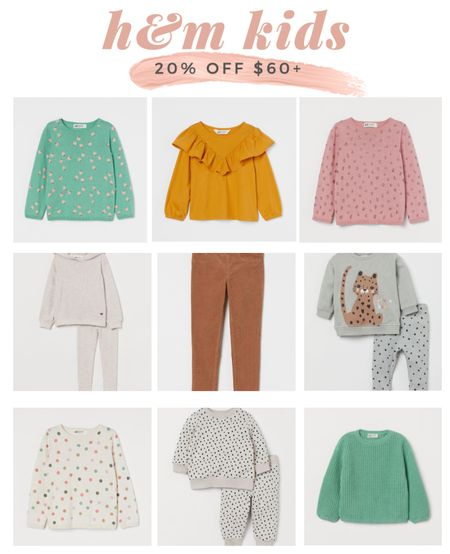 Tons of cute early fall clothes for kids on sale at H&M ❤️   #LTKsalealert #LTKkids