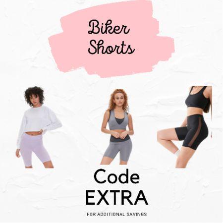 Biker shorts on a budget!  http://liketk.it/3fZgp #liketkit @liketoknow.it #LTKunder50 #LTKfit