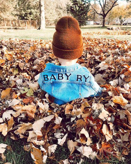 DIY Custom Baby Denim Jacket http://liketk.it/30STb #liketkit @liketoknow.it #LTKbaby #LTKbump #LTKkids