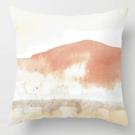 Love this pillow with the desert tones! #liketkit @liketoknow.it http://liketk.it/3ilov @liketoknow.it.home #LTKfamily #LTKsalealert #LTKunder50
