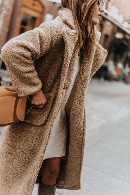 Double breasted teddy coat on sale!!! Ltk sale   #LTKSeasonal #LTKSale #LTKsalealert