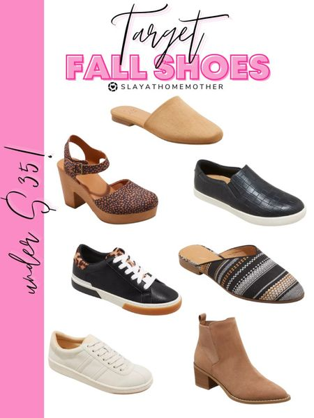 Fall shoes   Fall outfits, booties, teacher outfits, Walmart home, target home, cleaning, clean home, dream home, under 50, daily deals, 5 stars, amazon finds, amazon deals, daily deals, deal of the day, dotd, bohemian, farmhouse decor, farmhouse, living room, master bedroom  💕Follow for more daily deals, home decor, and style inspiration 💕  #LTKunder50 #LTKshoecrush #LTKstyletip
