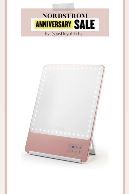 I can't do my makeup without this mirror anymore! It's still available in the Nordstrom Anniversary Sale for such a good price! Nsale, Nordstrom, makeup mirror, beauty finds   #LTKsalealert #LTKbeauty