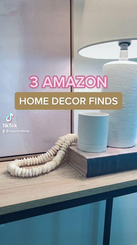 3 Amazon home decor finds! ✨  Amazon, home decor, Amazon home  #LTKunder50 #LTKunder100 #LTKhome