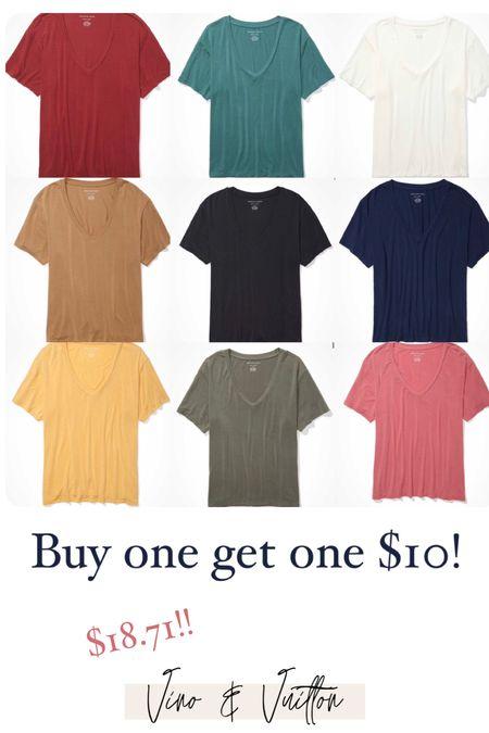 My favorite oversized tee! I get XS! Buy one get one for $10!!!!   #LTKtravel #LTKsalealert #LTKunder50
