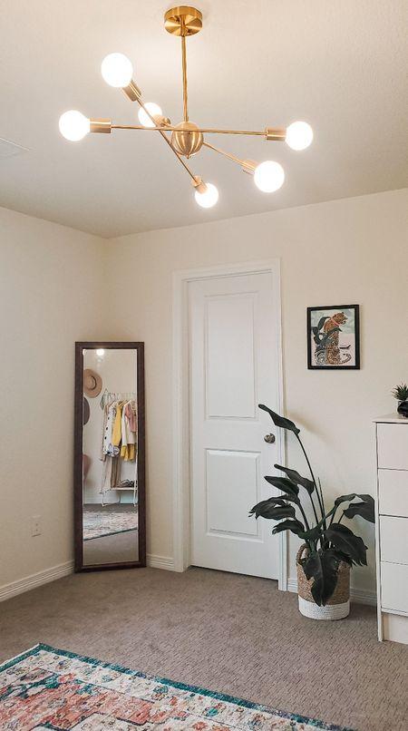 Found tge perfect way to enhance the lighting for my workspace. Got this chandelier from wayfair only for $80. #homedecor #officedecor   #LTKhome #LTKsalealert #LTKunder100