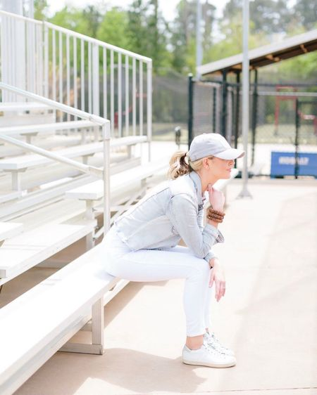 Baseball park vibes! Watching these boys play ball is so much fun! Check out my comfy spring look from evereve! http://liketk.it/3fPVQ #liketkit @liketoknow.it #LTKshoecrush #LTKstyletip #evereveambassador #evereveofficial #springoutfitinspo #springstyle