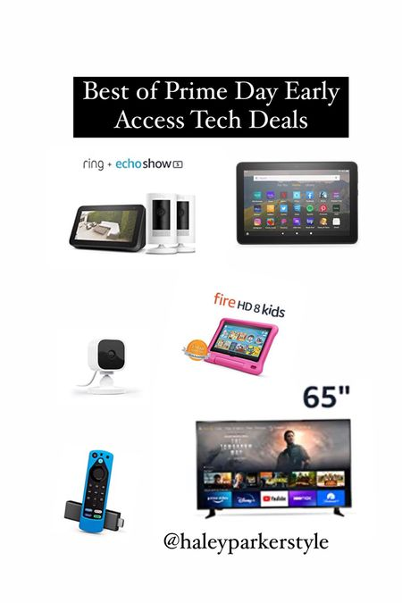 Amazon prime day early access tech deals  #LTKsalealert #LTKkids #LTKfamily