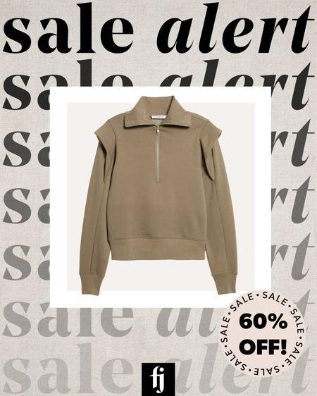 Puff sleeve sweatshirt on sale! I wear an XS #sweatshirt  #LTKsalealert #LTKstyletip