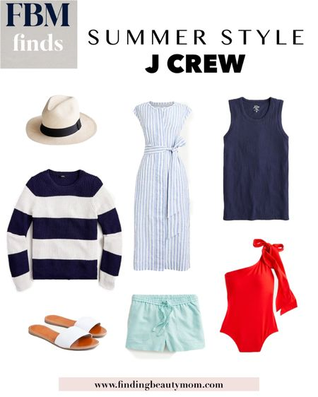 J crew summer style, summer outfits, swimsuits, beach style, getaway looks, vacation outfits http://liketk.it/3hgR6 #liketkit @liketoknow.it finding beauty mom #LTKstyletip #LTKtravel #LTKswim