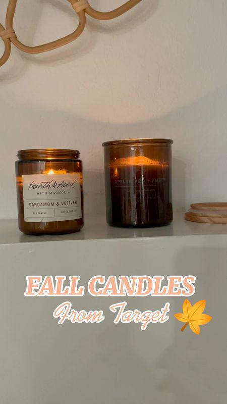 Fall Candles from Target!   #LTKhome #LTKSale #LTKSeasonal